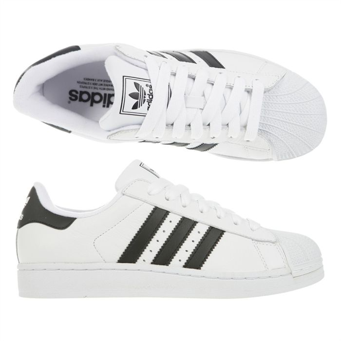 Chaussures Adidas Jeans Blanc Achat Vente jeans Cdiscount