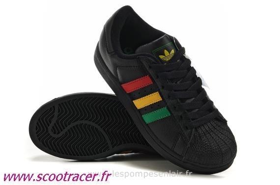 chaussure adidas vert jaune rouge