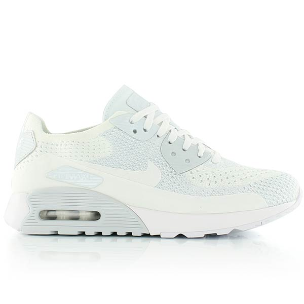 nike air max 90 ultra 2.0 flyknit homme white
